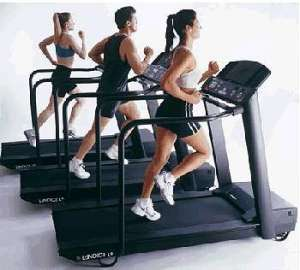 exercise treadmill cardio running