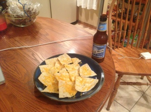 beer and nachos blue moon