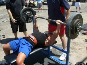 bench press weight lifting