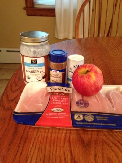 cinnamon apple chicken ingredients