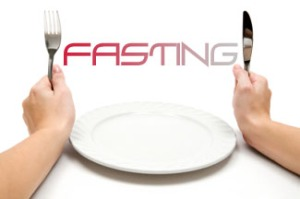 Fasting with an empty plate