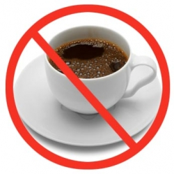 no coffee decrease cortisol