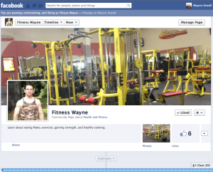 Fitness Wayne Facebook Page