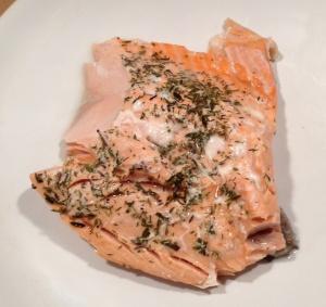cooked paleo salmon