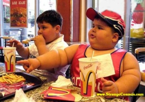 childhood obesity junk food McDonald's