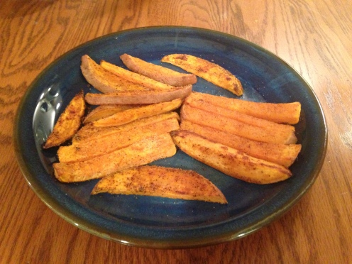 healthy paleo sweet potato fries