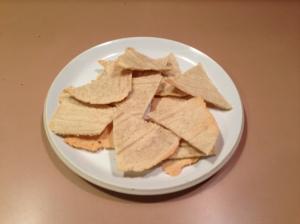 paleo gluten free almond tortilla chips