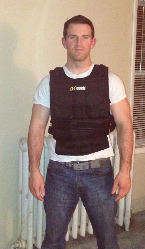 ZFO Sports 80 pound weight vest