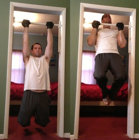 Chin Up Body Weight Exercise