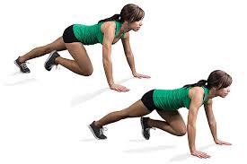 mountain climber body weight workout exercise