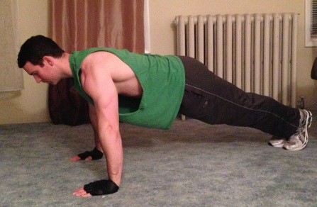 correct Push Up Form position