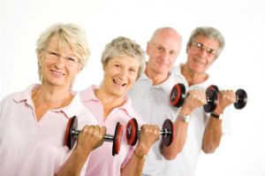 exercise and weightlifting benefits elderly