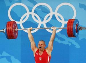 Olympic Weight lifting power strength
