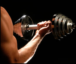 weight loss strength training dumbbells